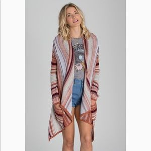 Billabong Beach Ramblin Sweater Cardigan